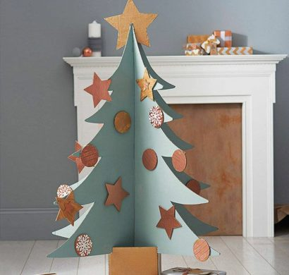 diy-arbre-de-carton-noël-410x390